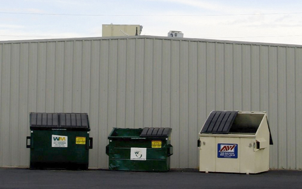 website about the dumpsters